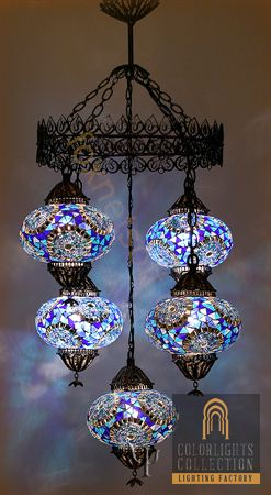 Picture of Mosaic Chandelier