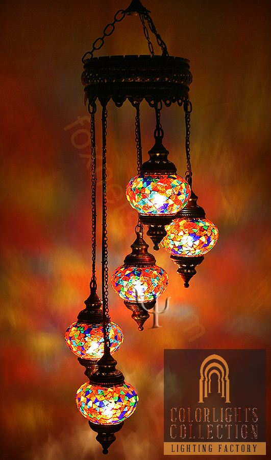 Mosaic lamps ottoman lamps turkish lighting manufacturermosaic picture of mosaic chandelier aloadofball Images