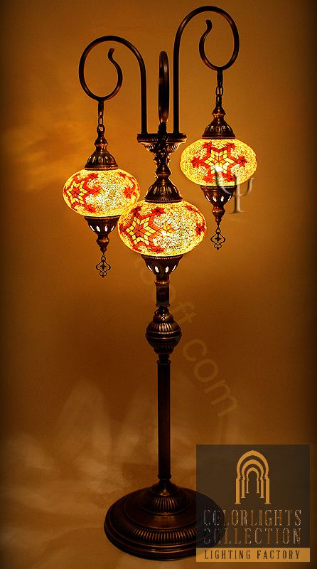 Mosaic lamps ottoman lamps turkish lighting manufactureryou are picture of mosaic floor lamp mozeypictures Choice Image
