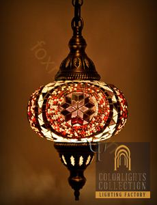 Picture of Mosaic Hanging Lamp