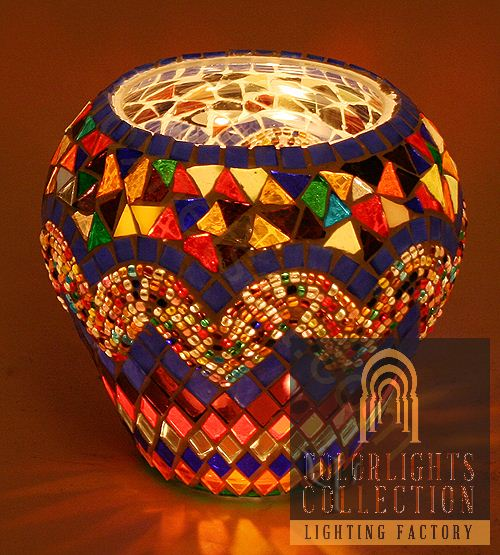 Lovely Picture Of Mosaic Tealight Holder