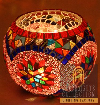 Picture of Mosaic Tealight Holder