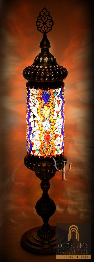 Mosaic lamps ottoman lamps turkish lighting manufacturermosaic picture of mosaic table lamp aloadofball Choice Image