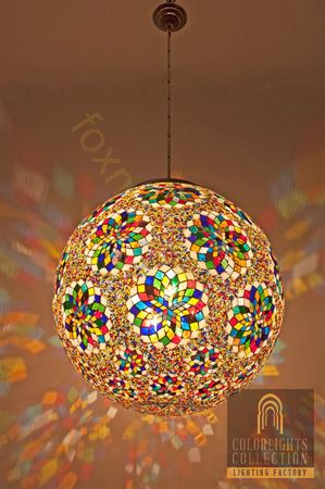 Picture of Mosaic Hanging Lamps