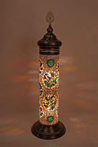 Mosaic lamps ottoman lamps turkish lighting manufacturermosaic mosaic floor lamp mozeypictures Choice Image