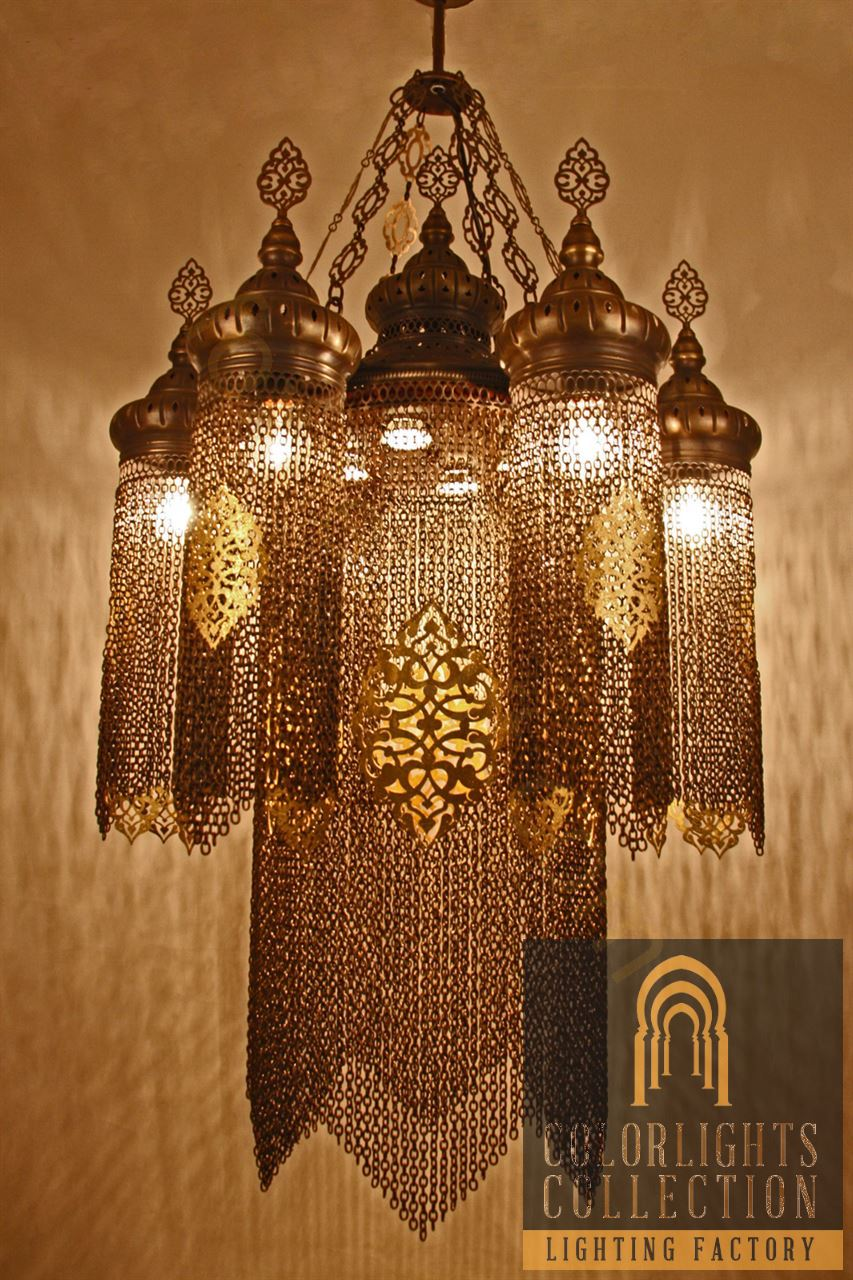 Mosaic lamps ottoman lamps turkish lighting manufacturerchain picture of chain lamp chandelier arubaitofo Images