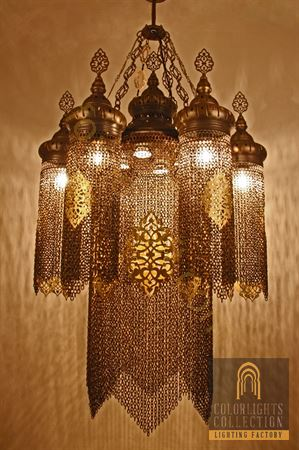 Picture of Chain Lamp Chandelier