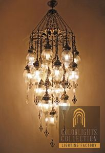 Picture of Pyrex Glass Chandelier