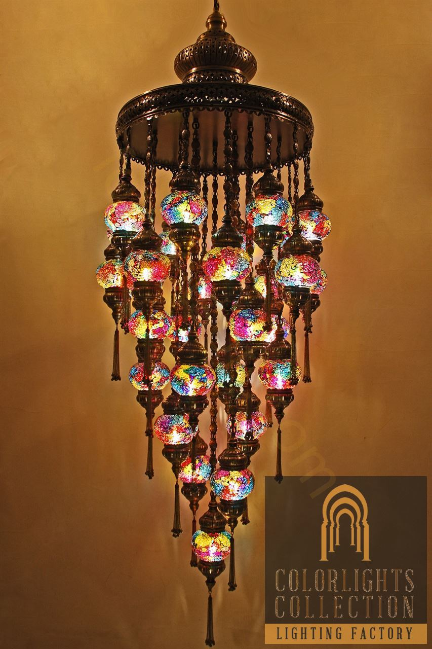 Mosaic lamps ottoman lamps turkish lighting manufacturer picture of mosaic chandeliers arubaitofo Images
