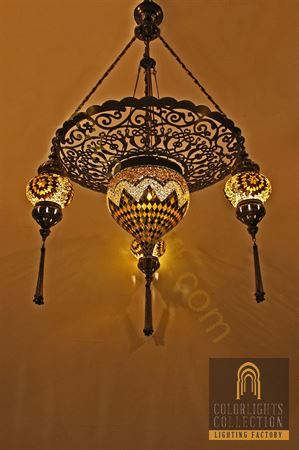 Picture of Mosaic Chandeliers